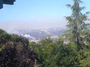 Morgan Hill East foothill fire.