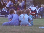Friends enjoy the band concert at Codorus State Park