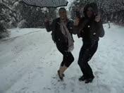 Snow Day In Bonny Doon