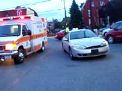 WOMAN AN CHILD HURT IN ACCIDENT