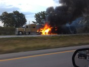 semi fires on i29 northbound