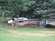plane crash in Fredericksburg
