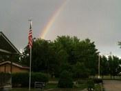 Rainbow in Carter Lake