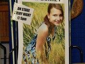 York Fair 2009- Heritage Hall Ent. Stage- Leah Burkey Poster (9/16/09)
