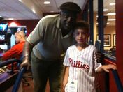 KJ Myers meets the Sarge !