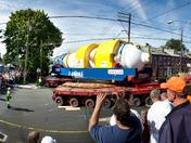 Generator moving through Columbia