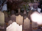 Is it a ghost in a Charleston, South Carolina graveyard?