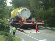 crossing creek into Falmouth, Amber N