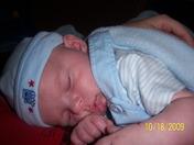 Connor sleeping