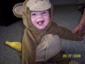 Halloween Monkey