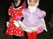 Daisy Duck & Minnie Mouse