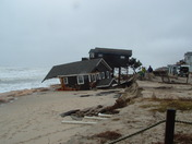 Neighboring homes in South Nags Head, NC that both could be lost
