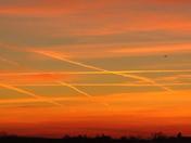 Tic-Tac-Toe Sunset