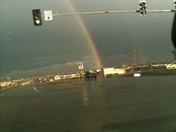 rainbow from the storm