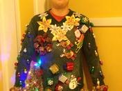 Crazy sweater contest