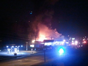 Bowling alley fire Wilkes County