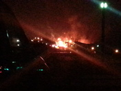 bowling alley fire