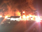 Wilkes county bowling alley fire