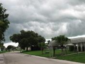 Afternoon storm in Okeechobee,