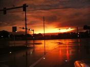 Sunset after rain 9-29-10