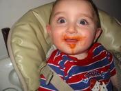 eating mommies sauce