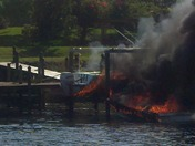 Boat fires Port St Lucie