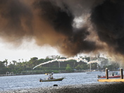 Yacht Catches Fire on the Intercoastal