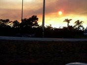 BRUSH FIRE IN HOBE SOUND