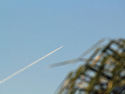 Shuttle launch from Tequesta