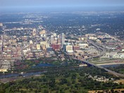 Ariel view of Omaha