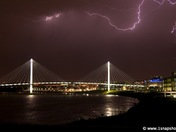 Lightnining Over The Bridge 2