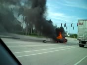 Car Fire July 11 Delray/boca, I95/congress