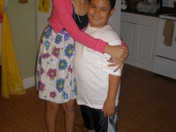 GISSELLE AND JAYDEN,''THANKSGIVING DAY 2011.