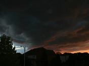 Sunset with Storm Sept 15
