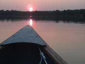 Canoeing on Standing Bear Lake