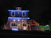 Saunders Christmas Light Show