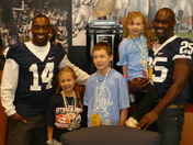 THON Football Wish with Mike Wallace and Silas Redd