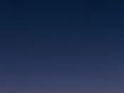 Comet PANstars with Moon