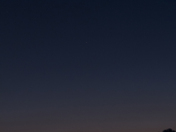 Comet PANstarrs with Crescent Moon