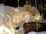 Phila. Flower Show 3/4/10. Orchids & ice...winter melts away.