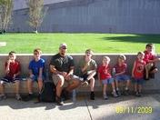 my wonderful fiance' & our 7 little boys