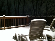 Christmas Eve snow, East Hempfield, Lancaster County