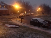 Christmas Eve snow in Reamstown