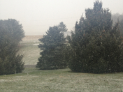 snowing in Stewartstown