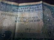 five Ethiopian