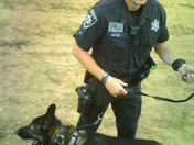 National Night Out 2011: Sheriff David Bolton and K9 Ronin
