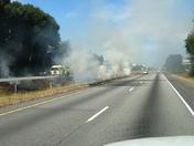 Grass fire i85 south at ga 166