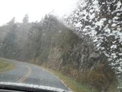 Snow Nov. 2 on the Blue Ridge Parkway