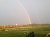 Glorious morning on the farm