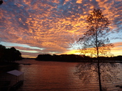 Sunrise over Keowee